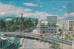 Ecuador - Quito - Overpass & Street - Cars  - Nice Stamp - Ecuador
