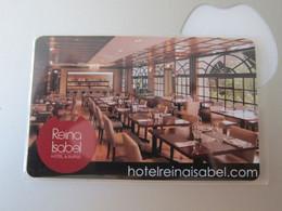 Reina Isabel Hotel& Suites - Hotel Keycards