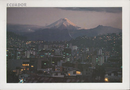 Ecuador - Quito By Night - Nice Stamp - Ecuador