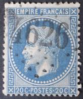 29B Planchage 77B2 2ème état, Obl BUREAU SUPPLEMENTAIRE GC 4626 Bedarrides (86 Vaucluse ) Ind 9 - 1849-1876: Periodo Clásico