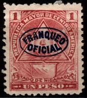 Nicaragua 1898 Mi D93 Official Stamps - Nicaragua