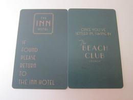The Inn Hotel - Hotel Keycards