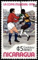 Nicaragua 1978 Mi 2054 FIFA World Cup 1978 - Argentina - Nicaragua