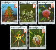 Nicaragua 1982 Mi 2328-2334 Flowers 1982 - CTO - Nicaragua