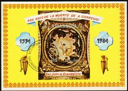 Nicaragua 1984 Mi 2511 Sh156 St. John The Evangelist - CTO - Nicaragua
