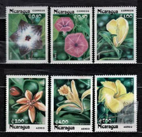 Nicaragua 1985 Mi 2586-2591 + Sheet - Flowers 1985 - MNH - Nicaragua