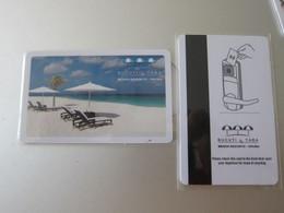 Bucuti & Tara Beach Resorts, Aruba - Hotel Keycards
