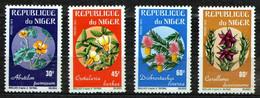 Niger 1973 Mi 365-368 Rare African Flowers - MNH - Niger (1960-...)
