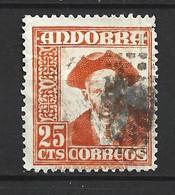 ANDORRA CORREO ESPAÑOL SELLO USADO  BONITO  Nº  49  ( S..1.B) - Used Stamps
