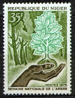 Niger 1974 Mi 435 National Tree Week - MNH - Niger (1960-...)