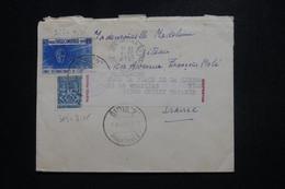 CAMBODGE / KHMÈRE - Cachet De Censure Au Dos D'une Enveloppe De Phnom Penh En 1971 Pour La France - L 97512 - Kambodscha