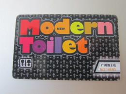 M-toilet Restaurant Membership Chip Card - Unclassified