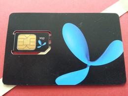THAILAND SIM GSM DTAC - With Numbers USIM RARE Used (BH1219b5 - Thaïlande