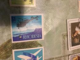 RHODESIA Elicottero 1 VALORE - Africa (Other)