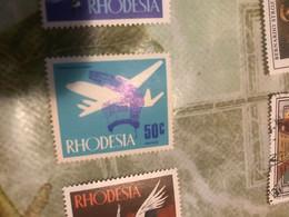 RHODESIA AEREI 1 VALORE - Africa (Other)