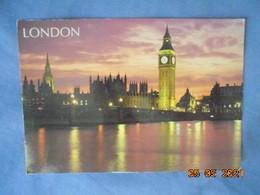 London. Houses Of Parliament, Big Ben. Whiteway WPL 1992 W205 PM 1995 16,5 X 11,5 Cm - River Thames