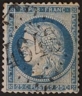 60C Obl BUREAU SUPPLEMENTAIRE GC 4643 Ourouer-les-Bourdelins (17 Cher ) Ind 13 - 1849-1876: Periodo Clásico