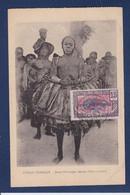 CPA Congo Français Type Ethnic Timbré Non Circulé Circonsis - Congo Français - Autres