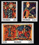 Norway 1976 Mi 734-736 Christmas MNH - Ungebraucht