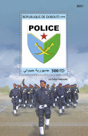 DJIBOUTI 2018 MNH** National Police Polizei S/S - OFFICIAL ISSUE - DH1829 - Police - Gendarmerie