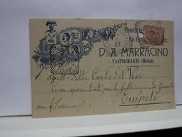 VASTOGIRARDI  -- CAMPOBASSO  --  D.A. MARRACINO   -- VINI - VERMOUTH - Campobasso