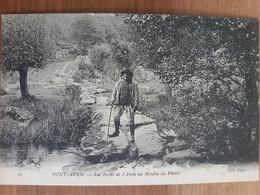 Pont Aven.les Bords De L'aven Au Moulin Du Plessis.édition ND 11 - Pont Aven