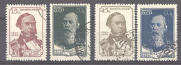 Ru0  -  Russie  :  Yv  730-33   (o) - Used Stamps