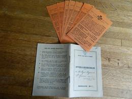 LIVRET :IJVERAARSBOEKJE POUR DE VUYST RAYMOND  POUR 1950+7 BOND VAN HET H.HART - Sin Clasificación