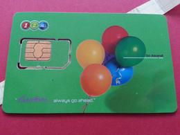 THAILAND SIM GSM 12Call Balons - With Numbers USIM RARE Used (BH1219b5 - Thaïlande