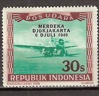 1949 Republik Indonesia 1949 **  30 Sen Liberation Overprint 'Merdeka Djokjakarta 6 Juli 1949' MNH** Postfris - Indonesia