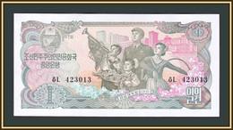 North Korea 1 Won 1978 P-18 (18a) UNC - Korea, North