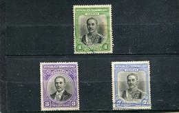 Dominicaine (République) 1933 Yt 261-263 - Repubblica Domenicana
