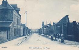 (182)  CPA  Sery Les Mézières  La Place   (Bon Etat ) - Other Municipalities