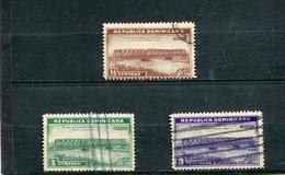 Dominicaine (République) 1934 Yt  267-269 - Repubblica Domenicana