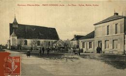 ENVIRONS AIX EN OTHE   PAISY COSDON PRES D AIX EN OTHE LA MAIRIE L ECOLE MARCHANDS AMBULANTS  FRANCE 10 AUBE - Autres Communes