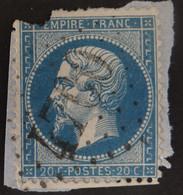 22 Déf, BdF, Obl BUREAU SUPPLEMENTAIRE GC 4700 Salornay-sur-guye (70 Saone Et Loire ) Ind 9 - 1849-1876: Periodo Clásico