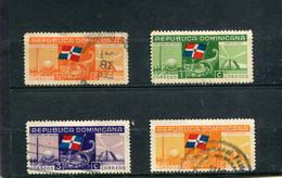 Dominicaine (République) 1939 Yt 316-319 - Repubblica Domenicana