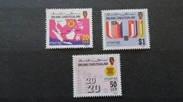 1987 Yv 369-371  MNH C39 - Brunei (1984-...)