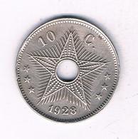 10 CENTIMES 1928 BELGISCH CONGO /3988/ - 1910-1934: Albert I