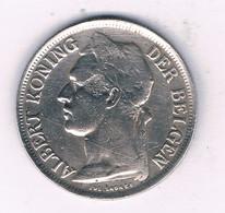 1 FRANC 1926  BELGISCH CONGO /3989/ - 1910-1934: Albert I