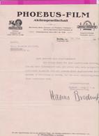 262061 / Germany Berlin 1922 - Phoebus - Film Aktiengesellschaft  , Metro Goldwyn Picrures , Deutschland Allemagne - 1900 – 1949
