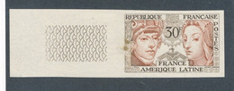 FRANCE - NON DENTELE N° 1060a) NEUF** SANS CHARNIERE AVEC BORD DE FEUILLE - 1956 - COTE : 30€ - Non Dentellati