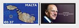 Malta / Malte - Postfris / MNH - In Memoriam, Prince Philip 2021 - Malta