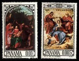 Panama 1966 Mi 918, 925 Religious Paintings MNH - Panama