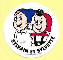 AUTOCOLLANT STICKER - SYLVAIN ET SYLVETTE - BD - BANDE DESSINÉE - LE LOMBARD - Stickers