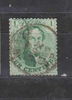 COB 13B Oblitération Centrale GAND Superbe - 1863-1864 Medallions (13/16)