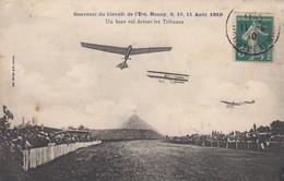 (182)  CPA  Circuit De L' Est Nancy 1910  Un Beau Vol Devant Les Tribunes   (Bon état ) - Nancy