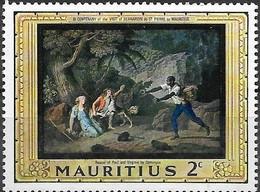 MAURITIUS 1968 Bicentenary Of Bernardin De St Pierre's Visit To Mauritius - 2c Dominique Rescues Paul And Virginie MNH - Mauricio (1968-...)