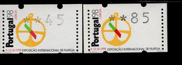 16 Briefmarkenausstellung (2) ** Postfrisch, MNH, Neuf - Automatenmarken (ATM/Frama)