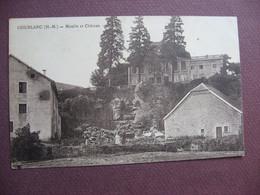 CPA 52 COUBLANC Moulin Et Chateau   Canton VILLEGUSIEN LE LAC - Altri Comuni